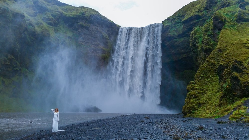 Just another epic waterfall picture in Iceland!