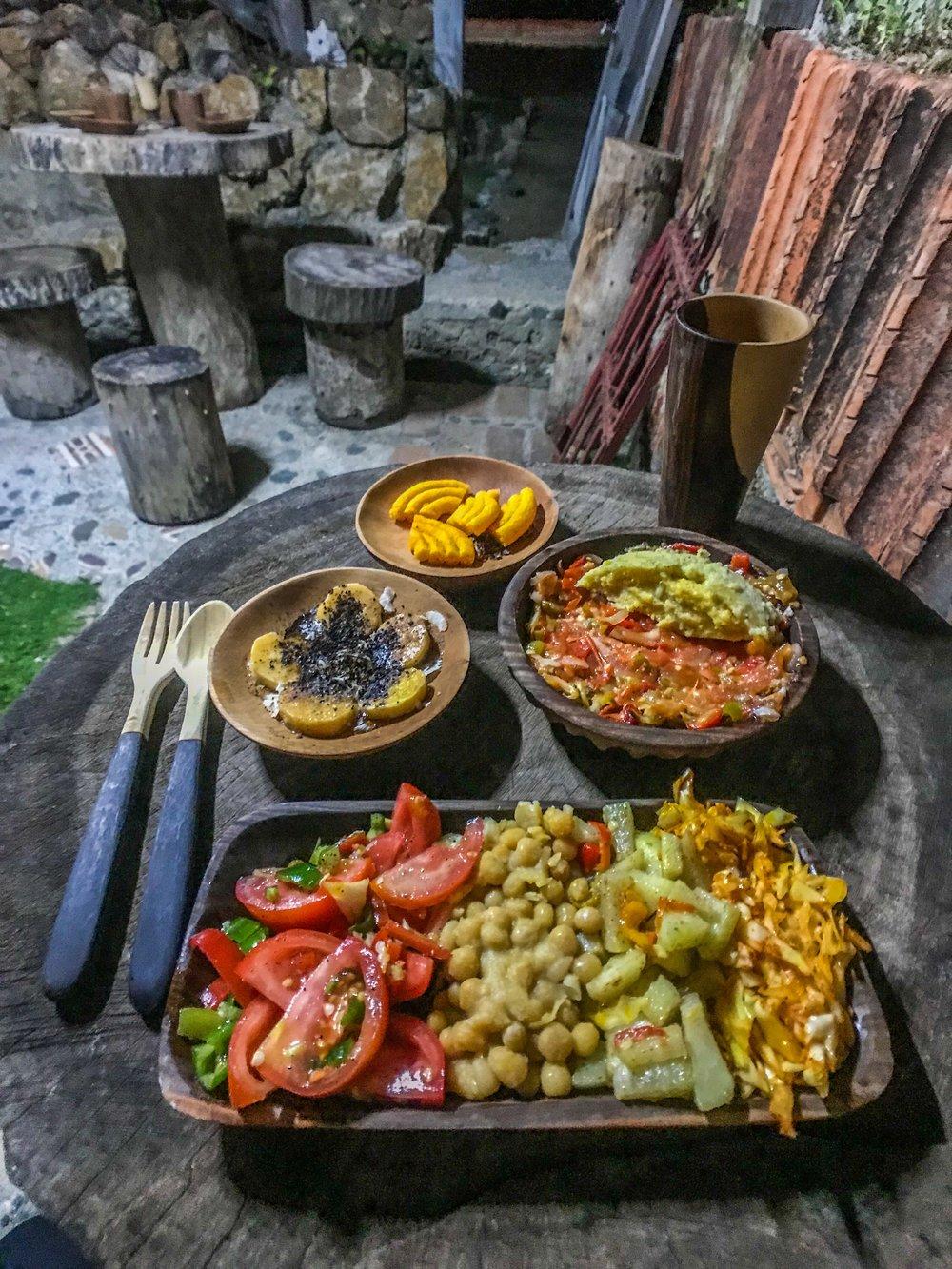 Plant-forward dining in Baracoa, Guantanamo