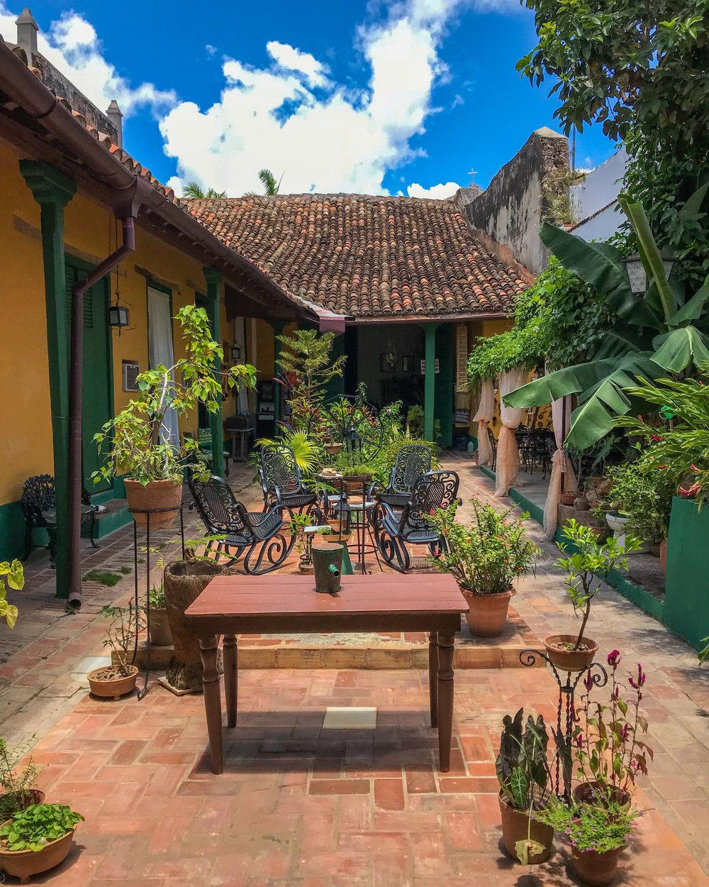 A casa particular in Trinidad, Cuba