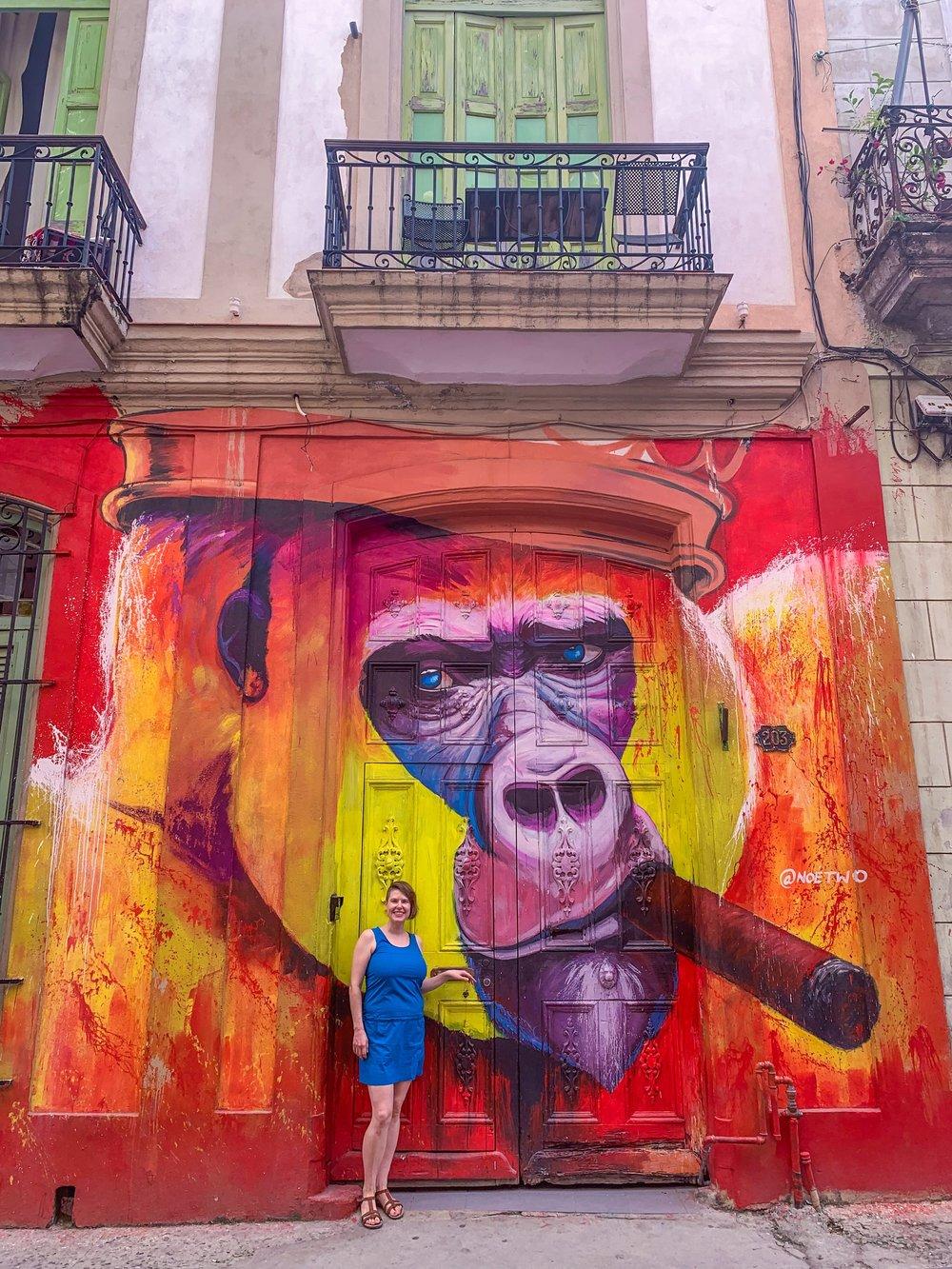 One of Havana's newest murals