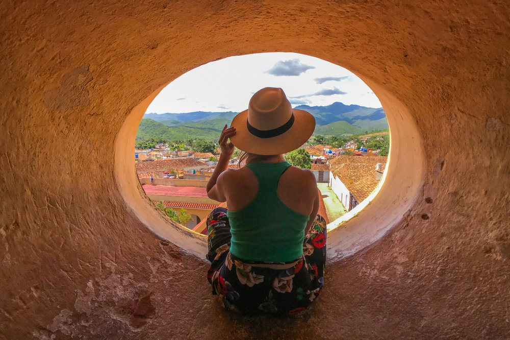 The best view in Trinidad, Cuba