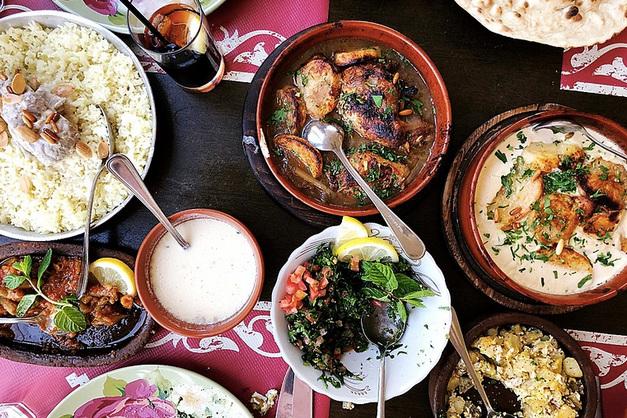 Traditional Jordanian food