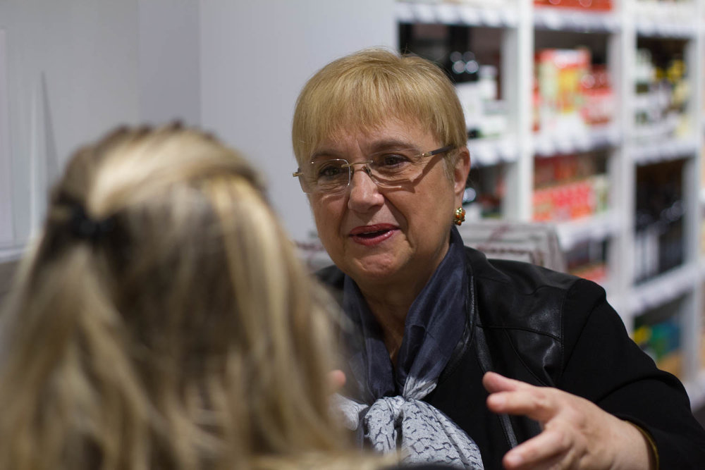 Boston University News Service interviews celebrity chef Lidia Bastianich.