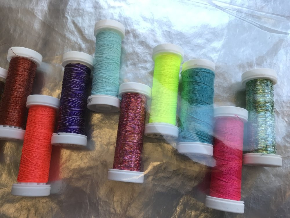 Colourful, lively thread shades from the Gunold range