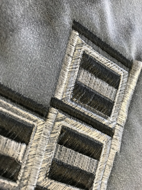 Gunold's nylon threads MONO in transparent and smoke colours - Design by GS UK