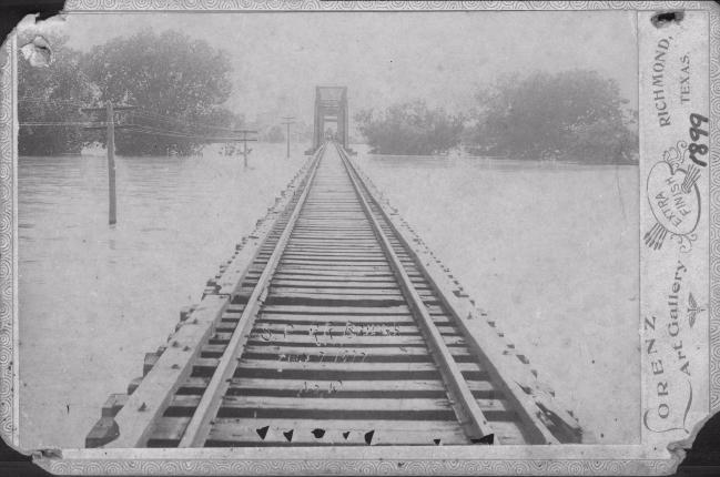 Railroad Bridge at Richmond, 1899