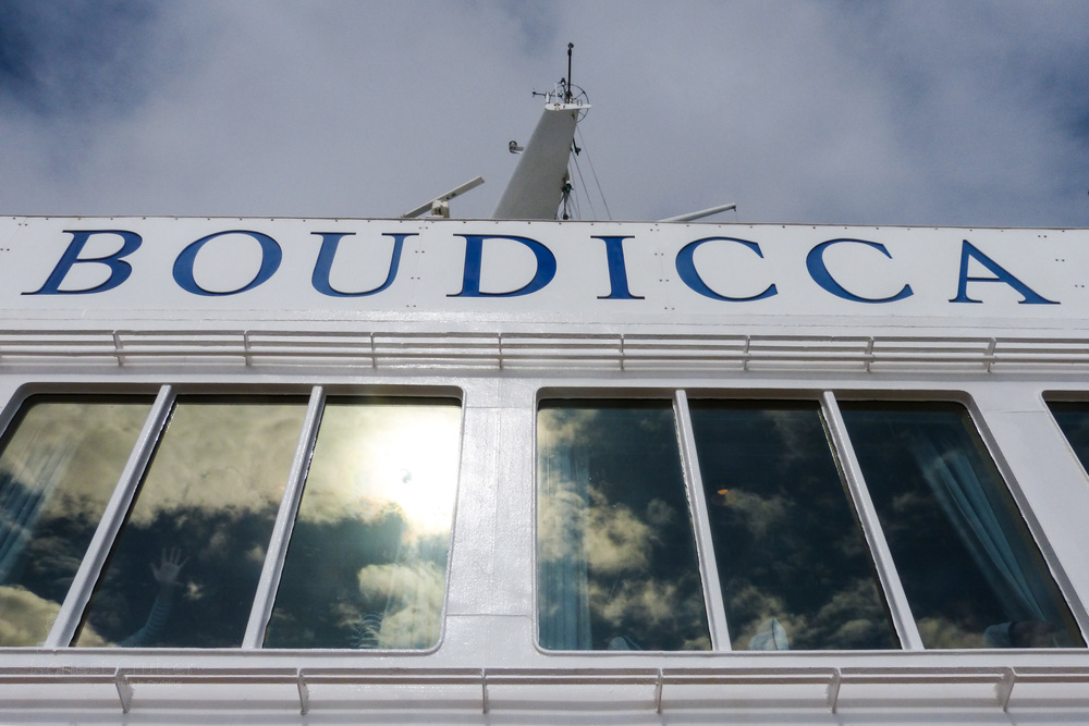 The Observatory Lounge beneath Boudicca's name.