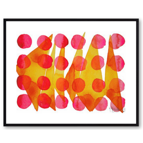 Polkadot Pattern by Kate Roebuck