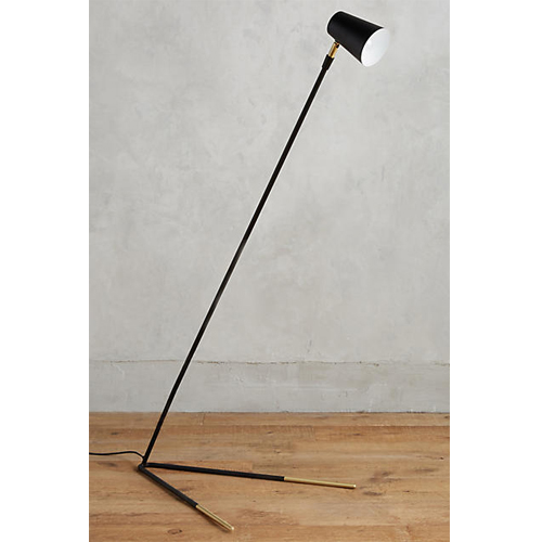 Gold-Dipped Floor Lamp
