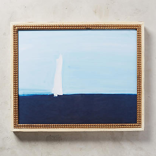 Sea Sailboat Wall Art by Daniela Orlev for Artfully Walls