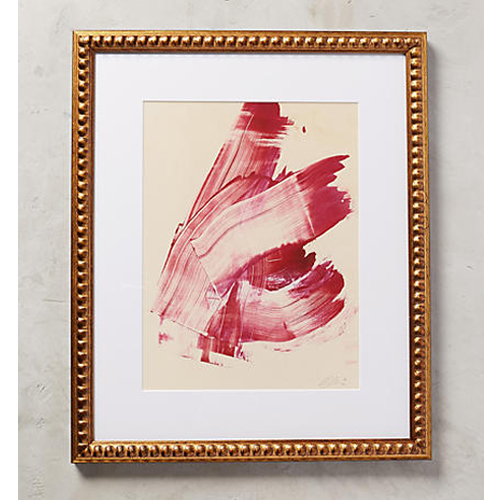 Hot Pink Abstract Wall Art by Anna Ullman for Artfully Walls