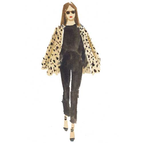 Leopard and Black by Caitlin McGauley
