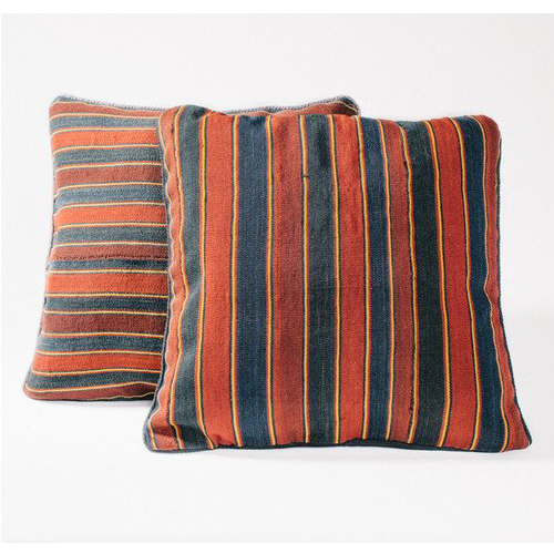 Red Stripe Vintage Kilim Pillow