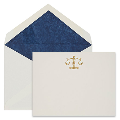 CONNOR Libra Notecard Set