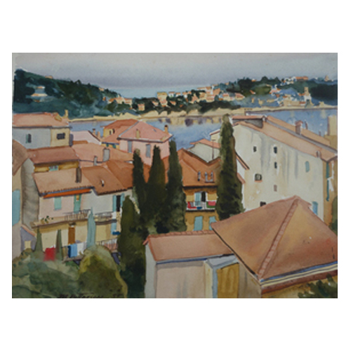 Ville Franche by Michael Patterson