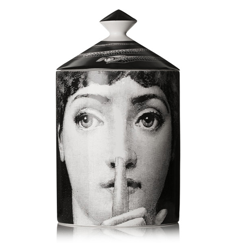 FORNASETTI Silenzio thyme, lavender and orris scented candle