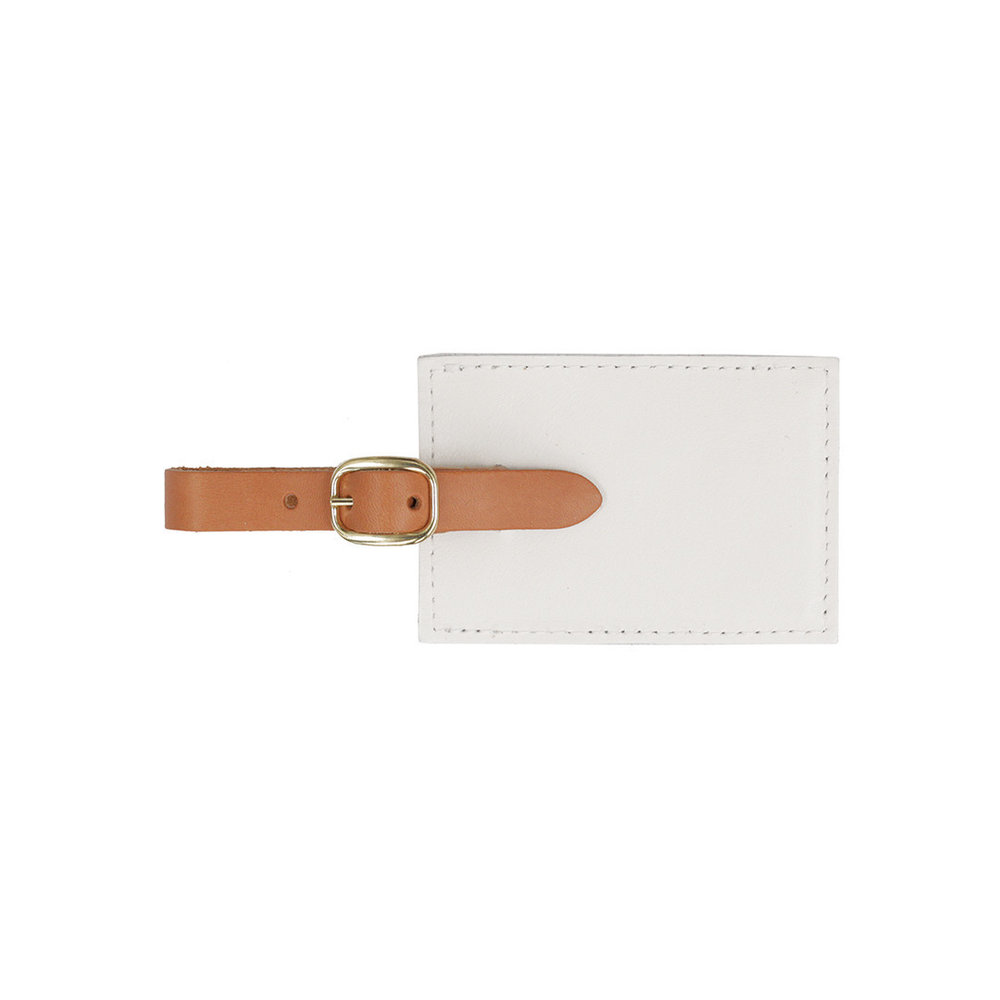 Luggage Tag WHITE AMALFI