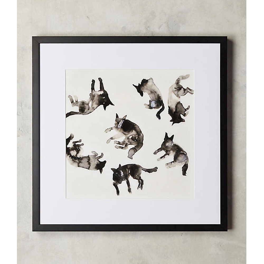 Lying Dogs Wall Art