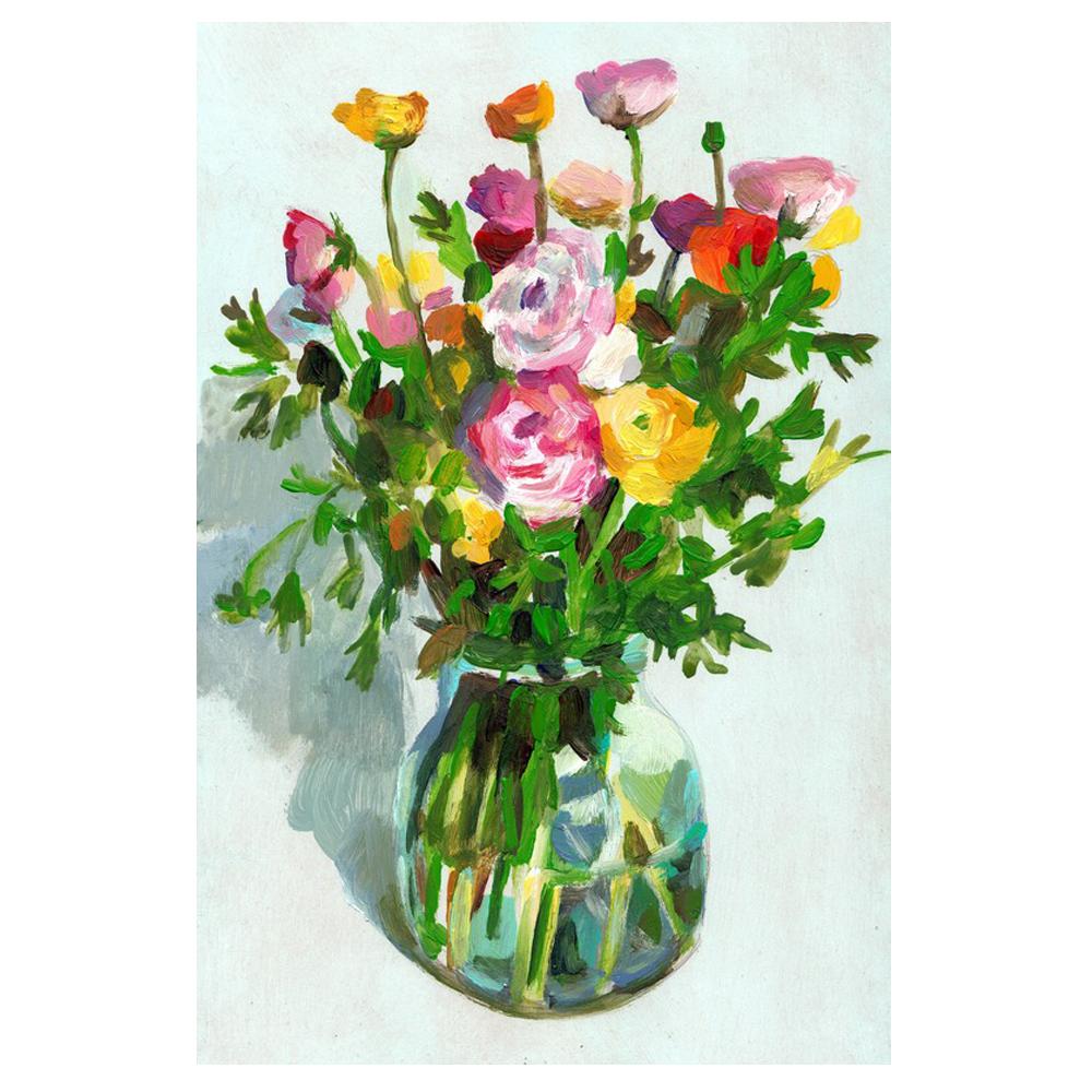 A Vase of Florals by Tali Yalonetzki