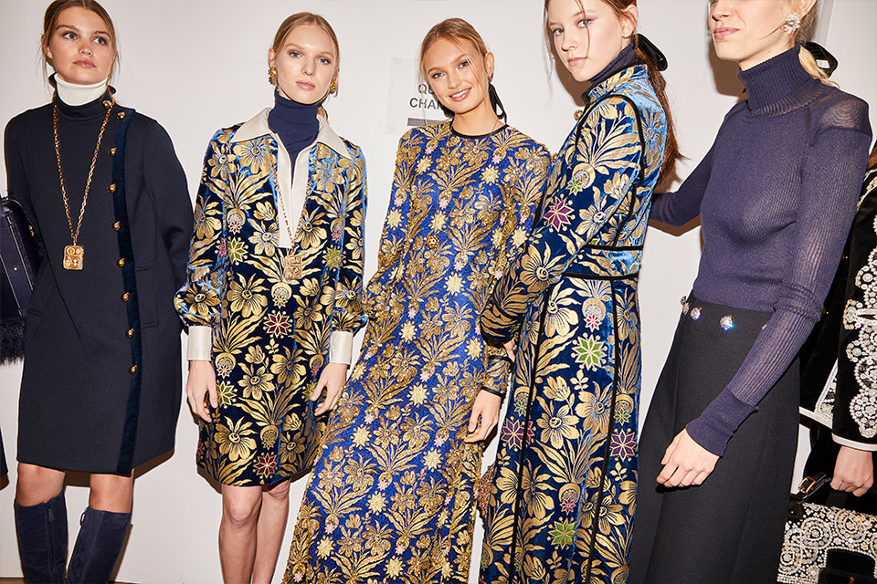 Tory Burch Fall/Winter 2017 collection , photographed by Jennifer Livingston