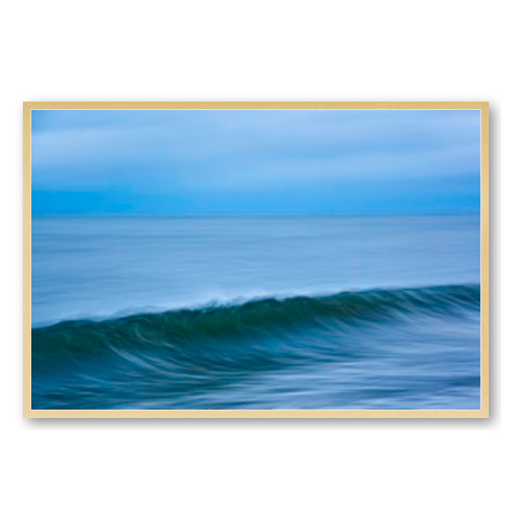 Ocean Waves with Sky by Greg Anthon