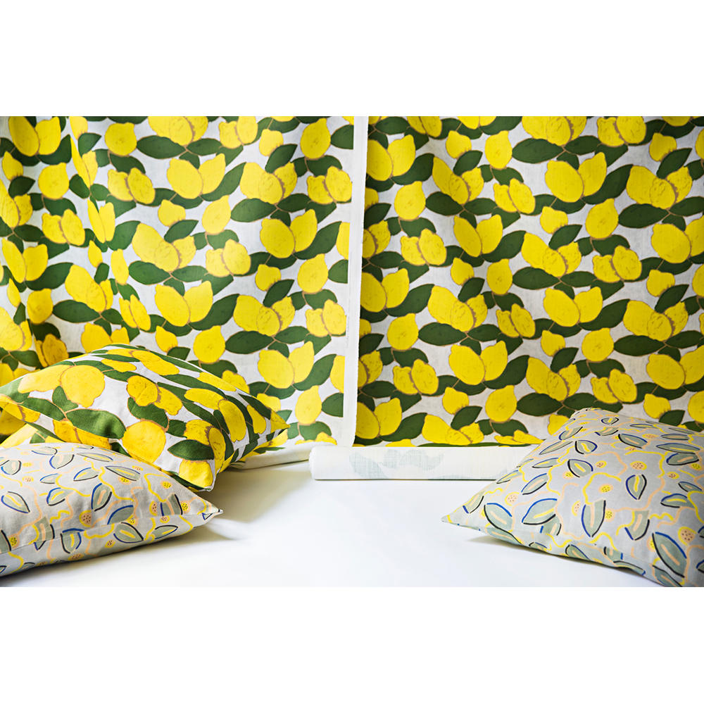Wayne Pate + Studio Four NYC Grove Citron Fabric