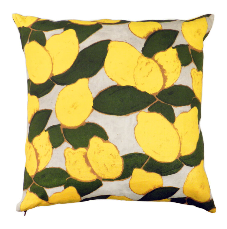 Wayne Pate + Studio Four NYC Grove Citron Pillow
