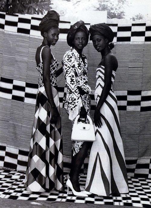 Seydou Kéita for Harper's Bazaar (1998)