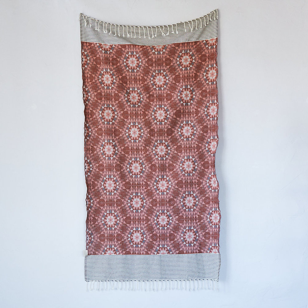 Kaleidoscope Cotton Throw
