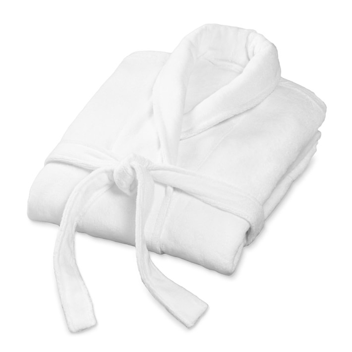 Chambers® Hydrocotton Bath Robe, White