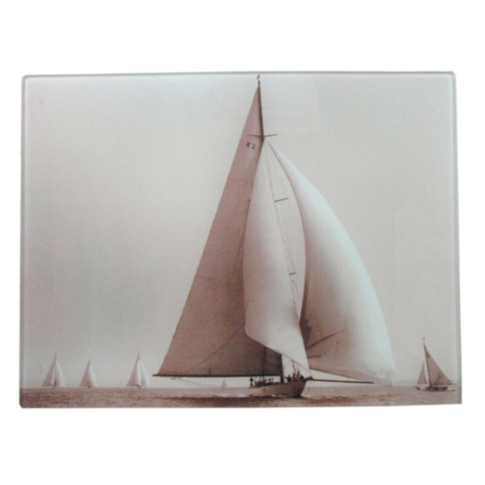 "Sailing 8 x 10.5"" Rect. Tray"