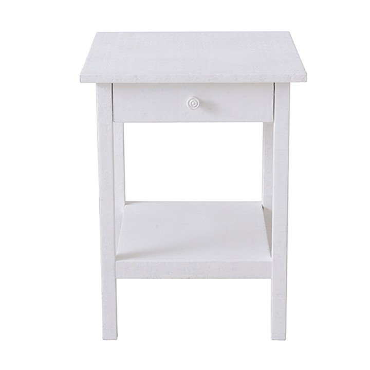 Heathcliff Side Table - Snow