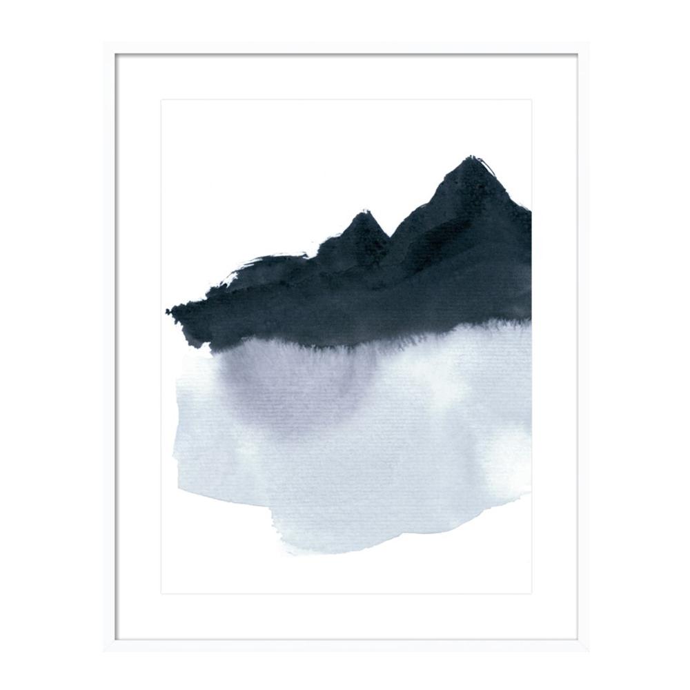 mountain scape minimal by Iris Lehnhardt