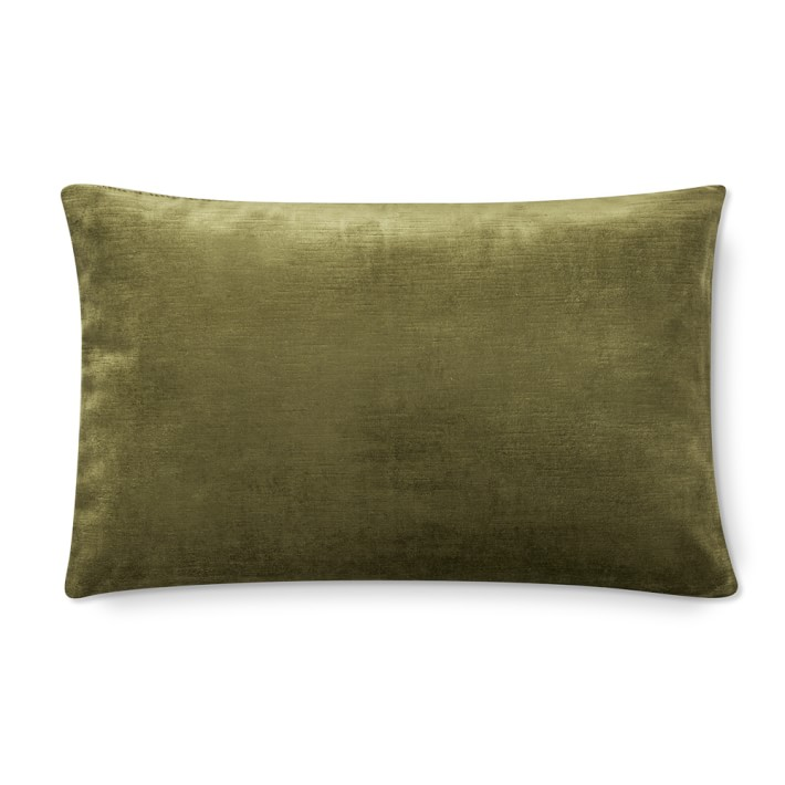 Velvet Lumbar Pillow Cover