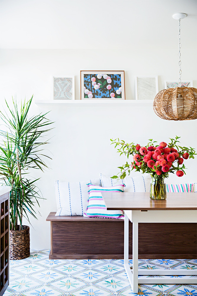 The colorful Los Angeles home of Heather Taylor.  Photo by Brittany Ambridge for Domino.
