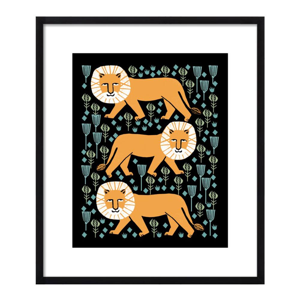 Safari Lion by Andrea Lauren