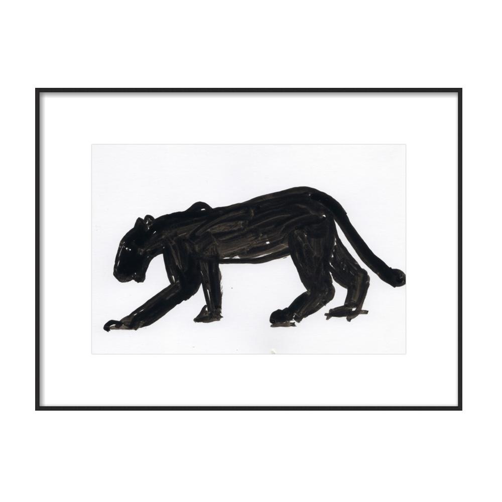 Panther Walking by Megan Williamson