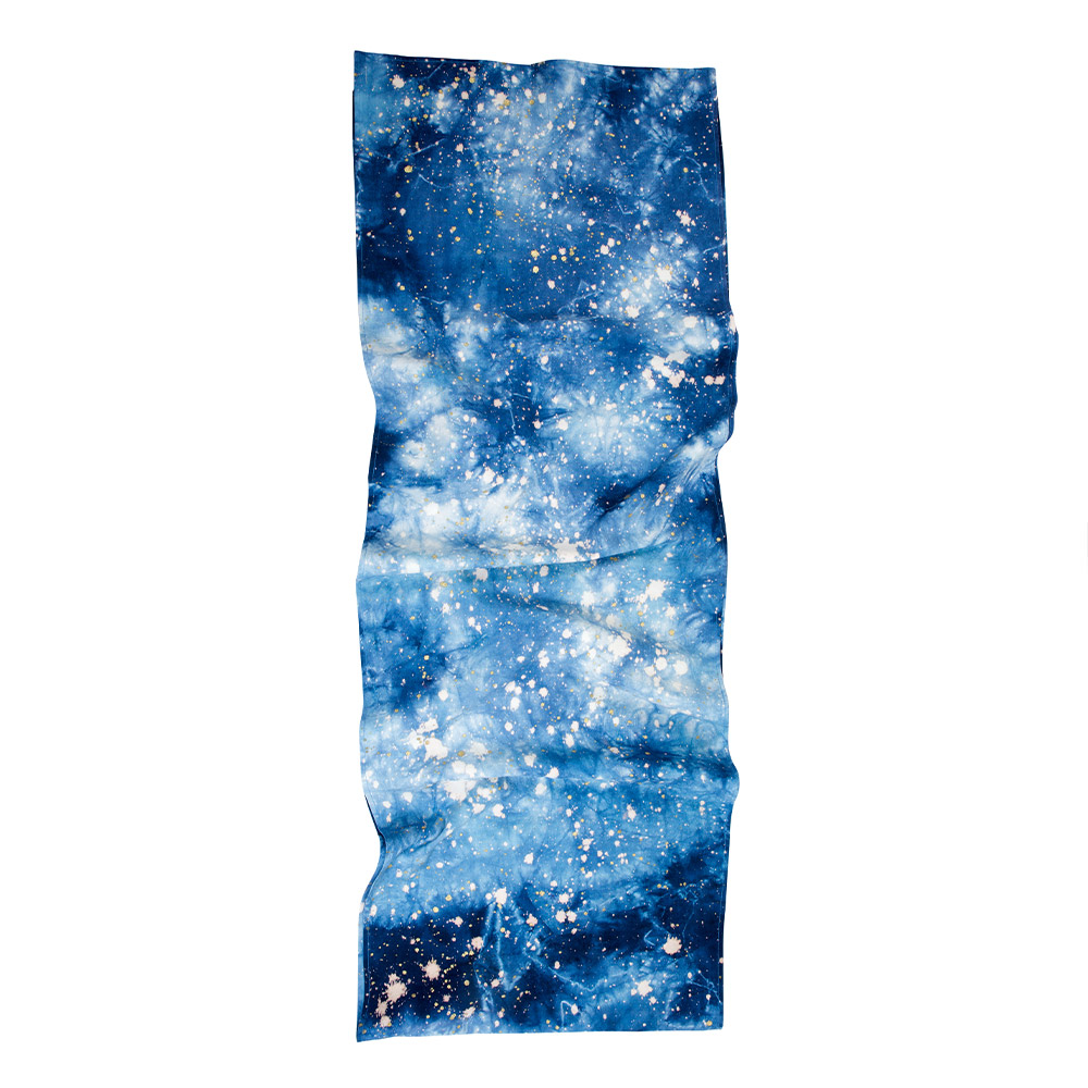 Navy Cosmic Table Runner