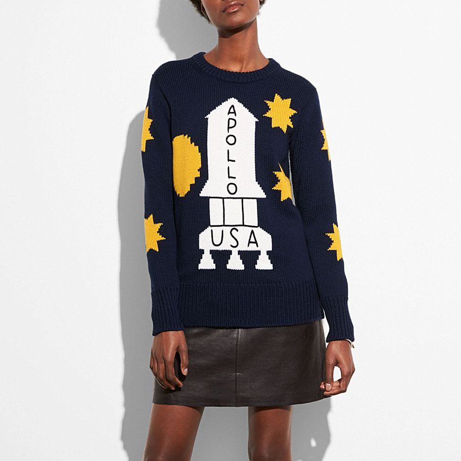 Rocket Crewneck Sweater