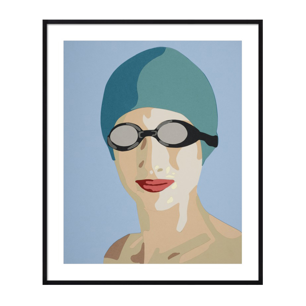 Swim Cap by Rankin Willard