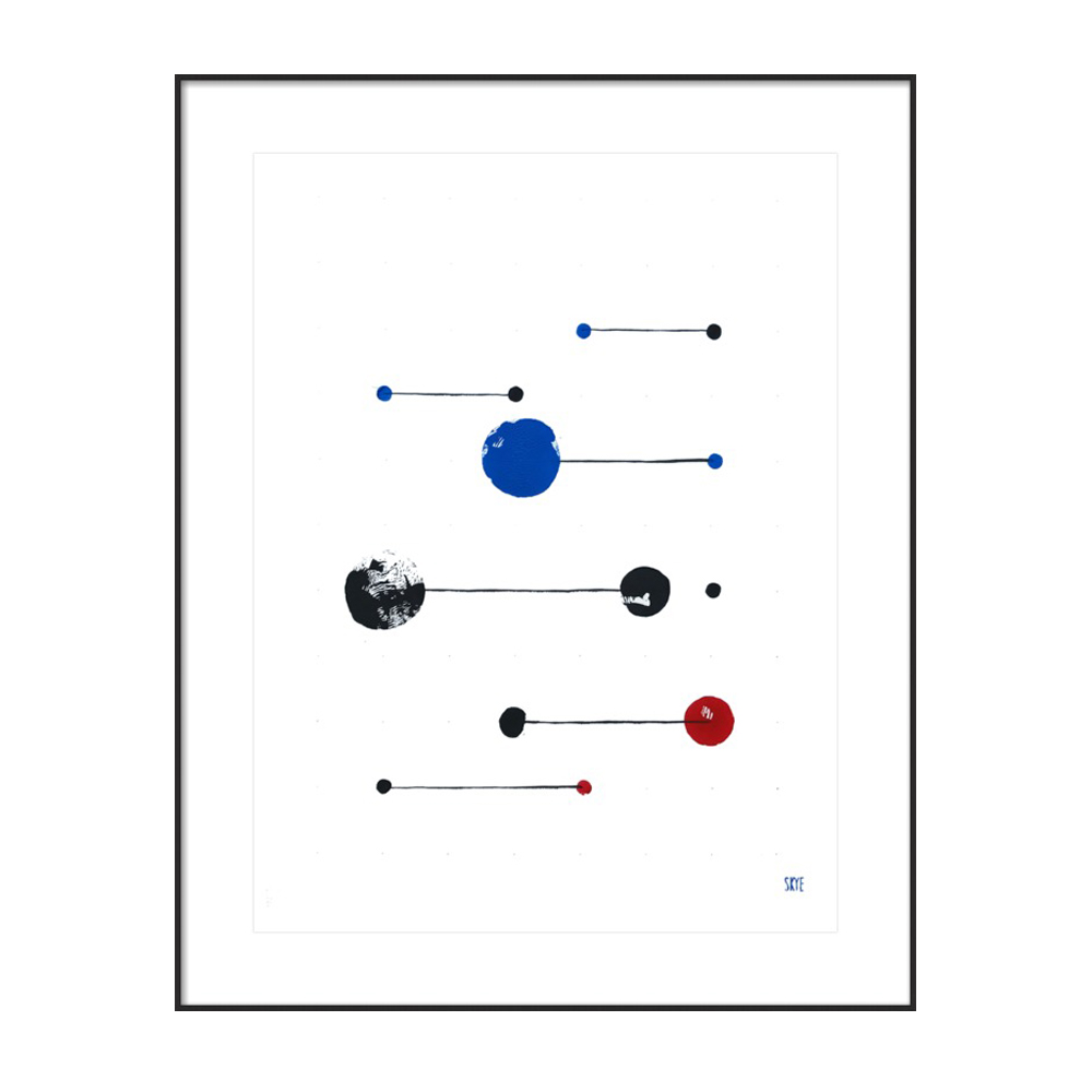 7 black 4 blue 2 red by Skye Schuchman
