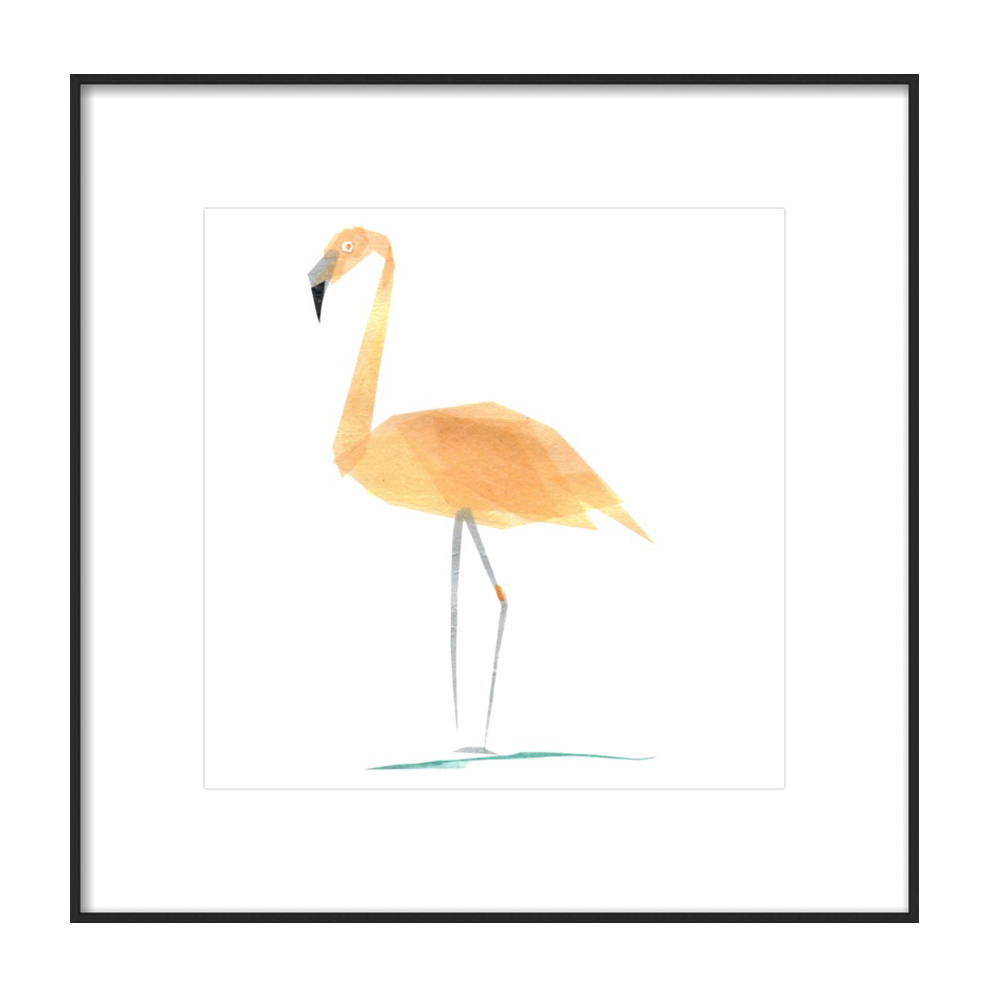 Betty Flamingo by Darrah Gooden