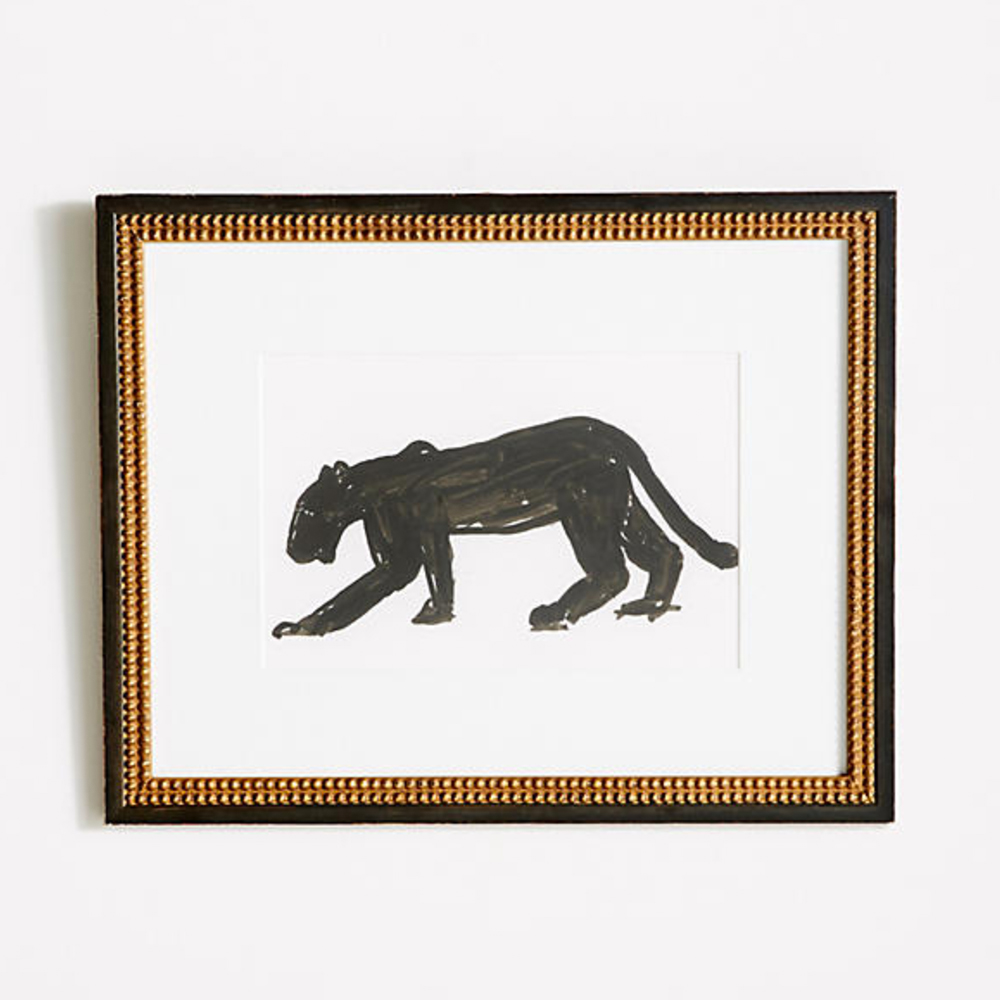 Panther Walking Wall Art