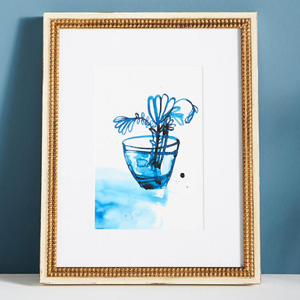 Blue Vase Wall Art