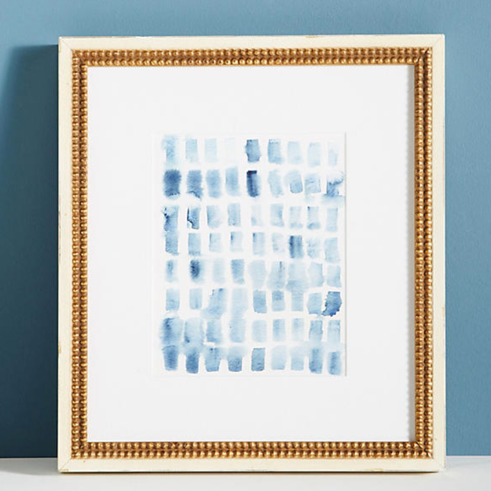 Blue Wash Blocks Wall Art