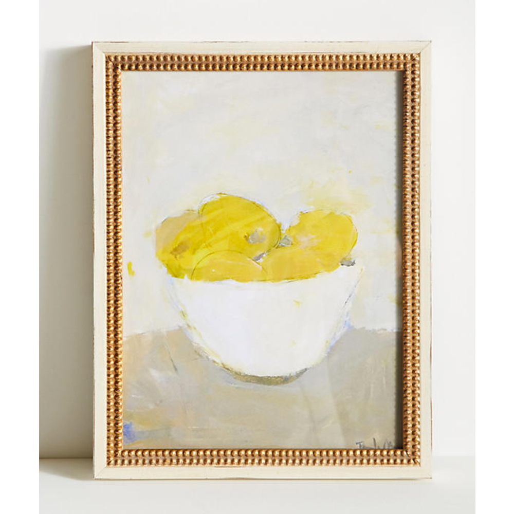 Bowl of Lemons Wall Art