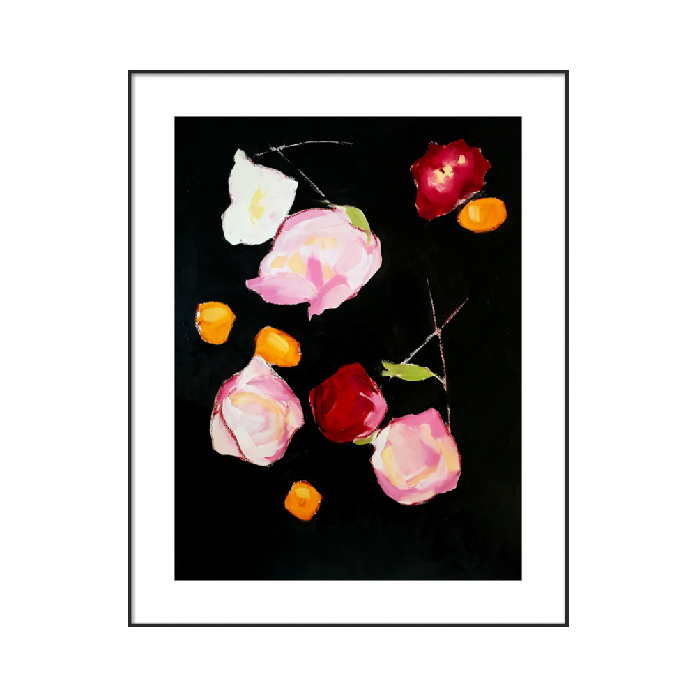 Dried Peonies and Tomatoes by Lynne Millar