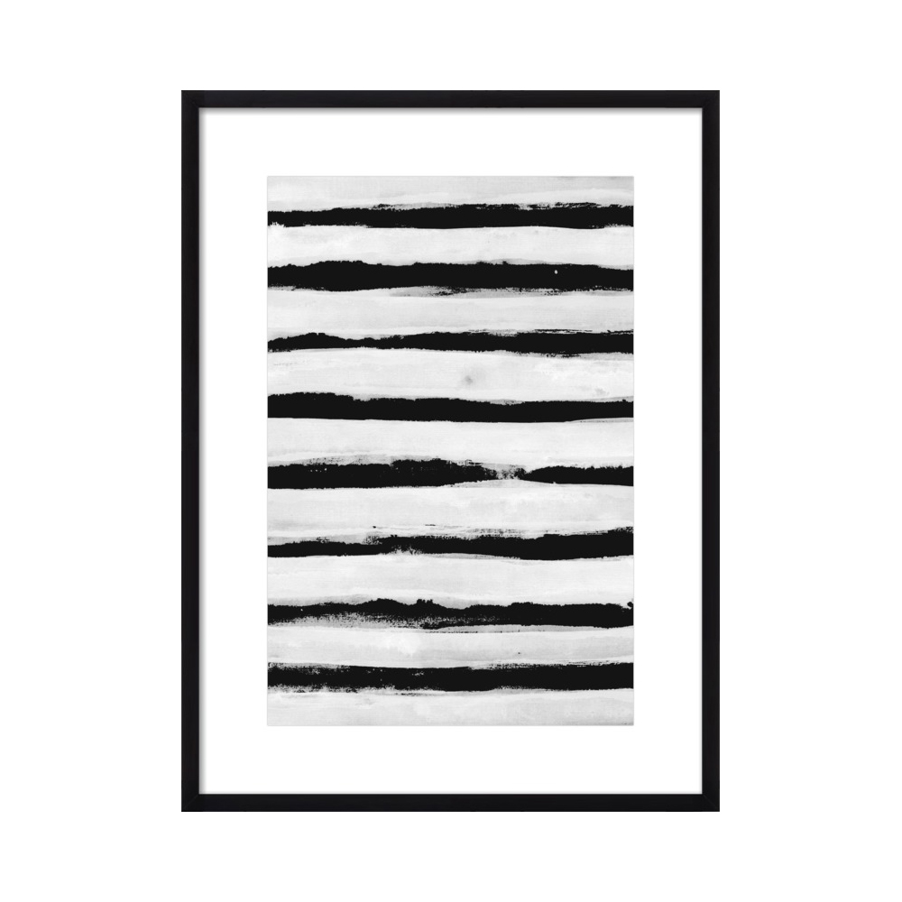Black and White Stripes by Georgiana Paraschiv