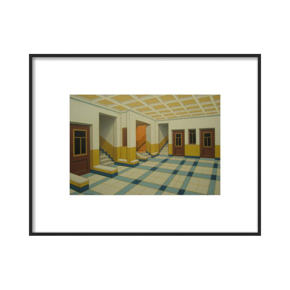 Interior 5 by Yacov Gabay
