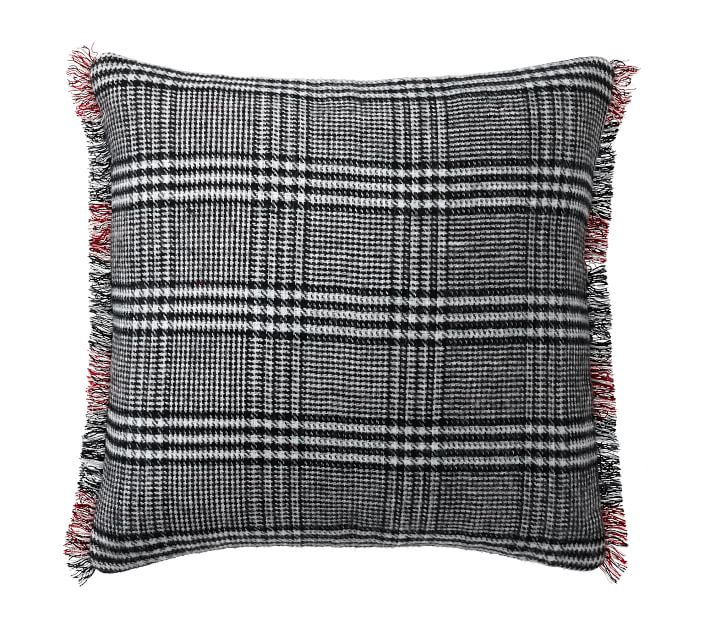 ALBRIGHT REVERSIBLE PLAID PILLOW COVER